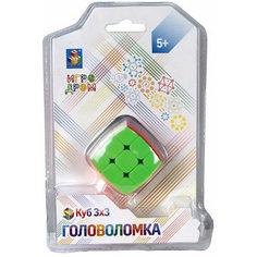 Головоломка 1Toy Куб 3х3, 3,5 см