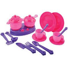 Набор посуды Terides Принцесса и Единорог, 18 предметов
