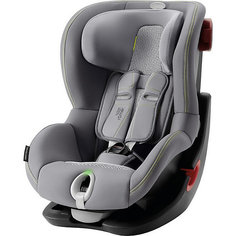 Автокресло Britax Romer King II LS Black Series 9-18 кг Cool Flow - Silver