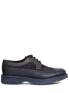 Туфли-монки комбинированные Pertini
