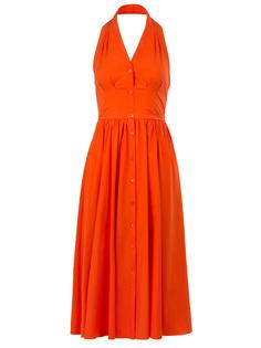 Платье с открытыми плечами Michael Kors