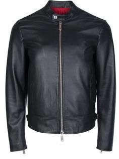Кожаная куртка Dsquared2