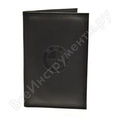 Бумажник водителя автостоп black натуральная кожа бвл5л-2