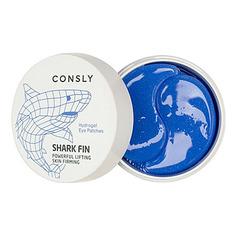 Consly, Гидрогелевые патчи для области вокруг глаз Shark Fin, 60 шт.