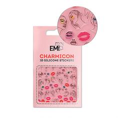 E.Mi, 3D-стикеры Charmicon №123 «Лица и губы» EMI