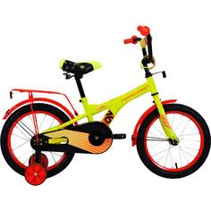 Forward, Велосипед Crocky 18 2020 зеленый/оранжевый
