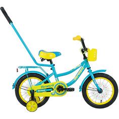 Forward, Велосипед Funky 14 бирюзовый/желтый