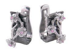 Серебряные серьги Серьги Альдзена S-16025