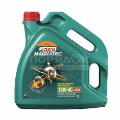 Масло моторное полусинтетическое 10W40 Castrol Magnatec R A3/B4, 4 л