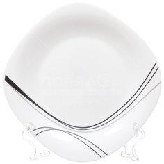 Тарелка десертная стеклокерамическая, 195 мм, Токио FFP-85-K1306-2 Daniks