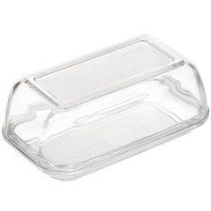 Масленка стеклянная, 10х17 см, Luminarc Beurrier 60118 прозрачная
