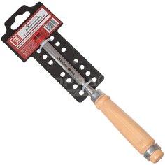 Долото-стамеска Bartex с деревянной рукояткой, 10 мм