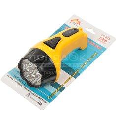 Фонарь SPE17194-5 аккум 7+8 LED, 3Вт, вилка 220в, желтый с черным SPE17194-5 I.K