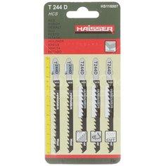 Пилка для электролобзика Haisser HS118007 для дерева 5 шт