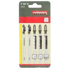 Пилка для электролобзика Haisser HS118004 для дерева 5 шт