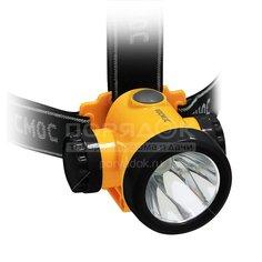 Фонарь налобный Космос KOCH3WLi-On, LED, зарядка от USB