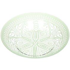 Тарелка суповая стеклянная, 220 мм, Boho зеленая 10335SLBD45 Pasabahce