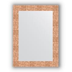 Зеркало 56х76 см соты медь Evoform Definite BY 3050