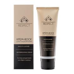 Уход Темно-коричневый крем-воск для гладкой кожи, 75 мл Respect