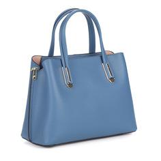 Сумки Синяя сумка из кожи Respect