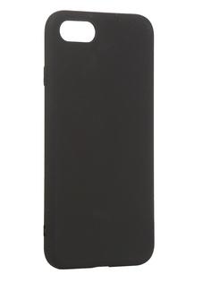 Чехол Antibacterial Case для APPLE iPhone 8 \ 7 \ SE 2020 TPU Ag+ с антибактериальным эффектом 1mm Black AC2071P811K