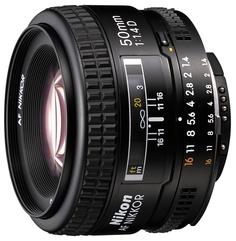 Объектив Nikon Nikkor AF 50 mm F/1.4 D