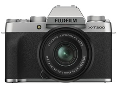Фотоаппарат Fujifilm X-T200 Kit 15-45mm Silver