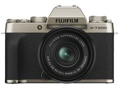 Фотоаппарат Fujifilm X-T200 Kit 15-45mm Gold