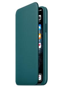 Чехол для APPLE iPhone 11 Pro Max Leather Folio Peacock MY1Q2ZM/A