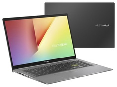 Ноутбук ASUS VivoBook S533FL-BQ088 Black 90NB0LX3-M03430 Выгодный набор + серт. 200Р!!!(Intel Core i5-10210U 1.6 GHz/8192Mb/512Gb SSD/nVidia GeForce MX250 2048Mb/Wi-Fi/Bluetooth/Cam/15.6/1920x1080/DOS)