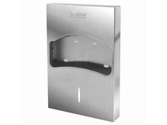 Диспенсер Лайма Professional Inox для покрытий на унитаз 1/4 сложения 605704
