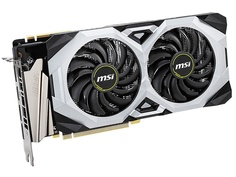 Видеокарта MSI GeForce RTX 2070 Super Ventus GP OC 1785MHz PCI-E 3.0 8192Mb 14000Mhz 256-bit DP HDMI Выгодный набор + серт. 200Р!!!