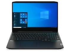 Ноутбук Lenovo IdeaPad Gaming 3 15IMH05 Black 81Y4006YRU (Intel Core i5-10300H 2.5 GHz/8192Mb/256Gb SSD/nVidia GeForce GTX 1650 4096Mb/Wi-Fi/Bluetooth/Cam/15.6/1920x1080/Windows 10 Home 64-bit)