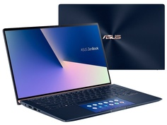 Ноутбук ASUS Zenbook UX434FAC-A5164T Blue 90NB0MQ5-M02520 (Intel Core i5-10210U 1.6 GHz/8192Mb/512Gb SSD/Intel HD Graphics/Wi-Fi/Bluetooth/Cam/14.0/1920x1080/Windows 10 Home 64-bit)