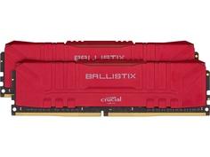 Модуль памяти Ballistix Red DDR4 DIMM 3000MHz PC4-24000 CL15 - 16Gb Kit (2x8Gb) BL2K8G30C15U4R