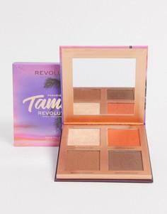 Палитра для макияжа Revolution x Tammi Golden Glow Deep-Мульти
