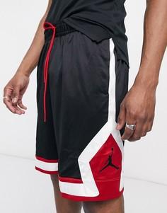 Черно-красные шорты Nike Jordan Jumpman-Черный