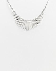 Броское ожерелье ALDO-Серебряный