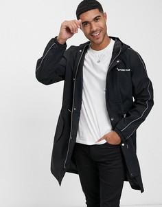 Куртка-макинтош The Couture Club-Черный