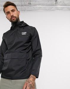 Черная куртка Vans Distort Type-Черный