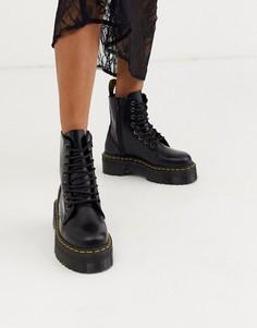 Массивные ботинки на платформе Dr Martens Jadon-Черный