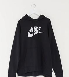 Худи черного цвета с логотипом Nike Plus Club-Черный