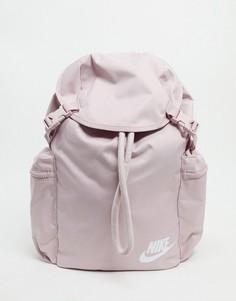 Розовый рюкзак с карманами в стиле милитари Nike