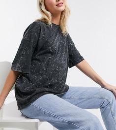 Эксклюзивная oversized-футболка ASOS DESIGN Maternity-Серый