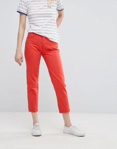 Укороченные джинсы прямого кроя Wrangler-Красный