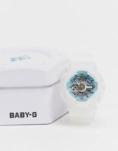 Часы с белым ремешком Casio Baby G BA-110SC-7AER-Белый