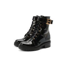 Кожаные ботинки Ranger Balmain