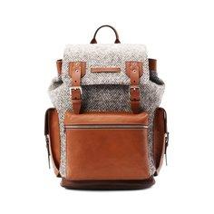 Комбинированный рюкзак Brunello Cucinelli