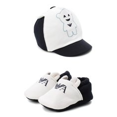 Комплект из шапки и пинеток Emporio Armani