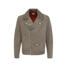Куртки Brunello Cucinelli Кожаная куртка Brunello Cucinelli